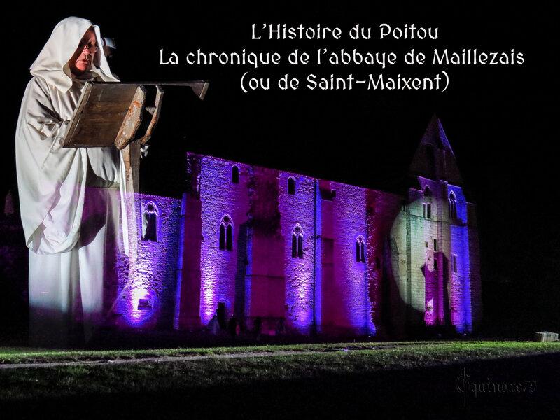 Histoire du Poitou - La chronique de l'abbaye de Maillezais (ou de Saint-Maixent)