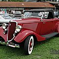 Ford model 40a deluxe roadster-1934