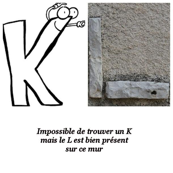 abece K et L