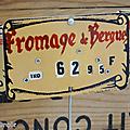 Vintage ... etiquettes de prix * en francs