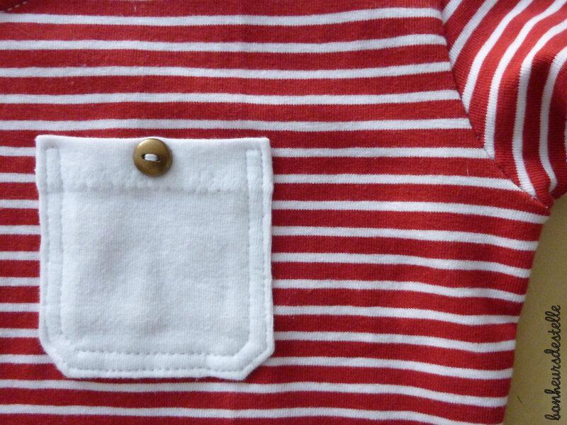 plantain marinière détail poche