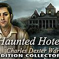 Jeu d'objets cachés haunted hotel - charles dexter ward edition collector