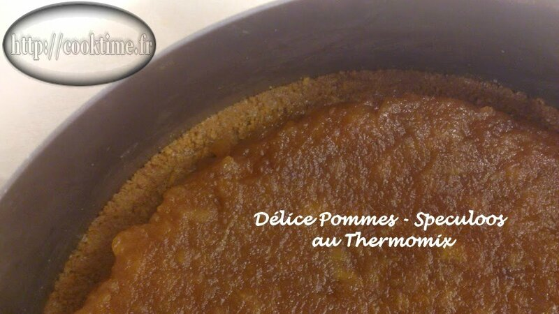 Delice pommes speculoos thermomix 6