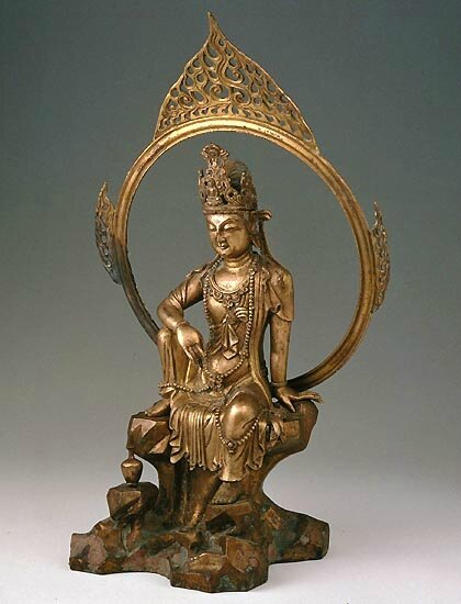 Guanyin, the Goddess of Mercy, Five Dynasties, 907 - 960 CE