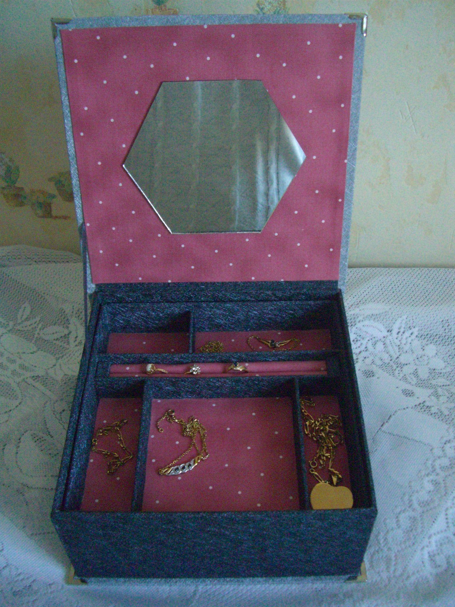 intérieur boite à bijoux