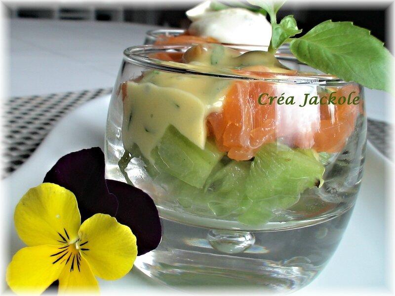 saumon kiwi mayo