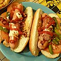 Hot-dogs us homemade