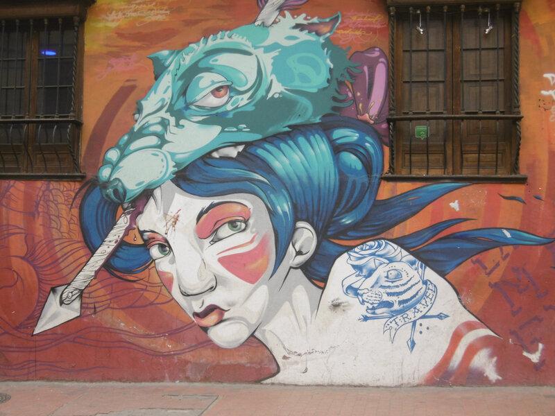 1 - grafitti mur de Bogota (1)