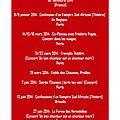 Jann halexander - concerts 1er semestre 2014