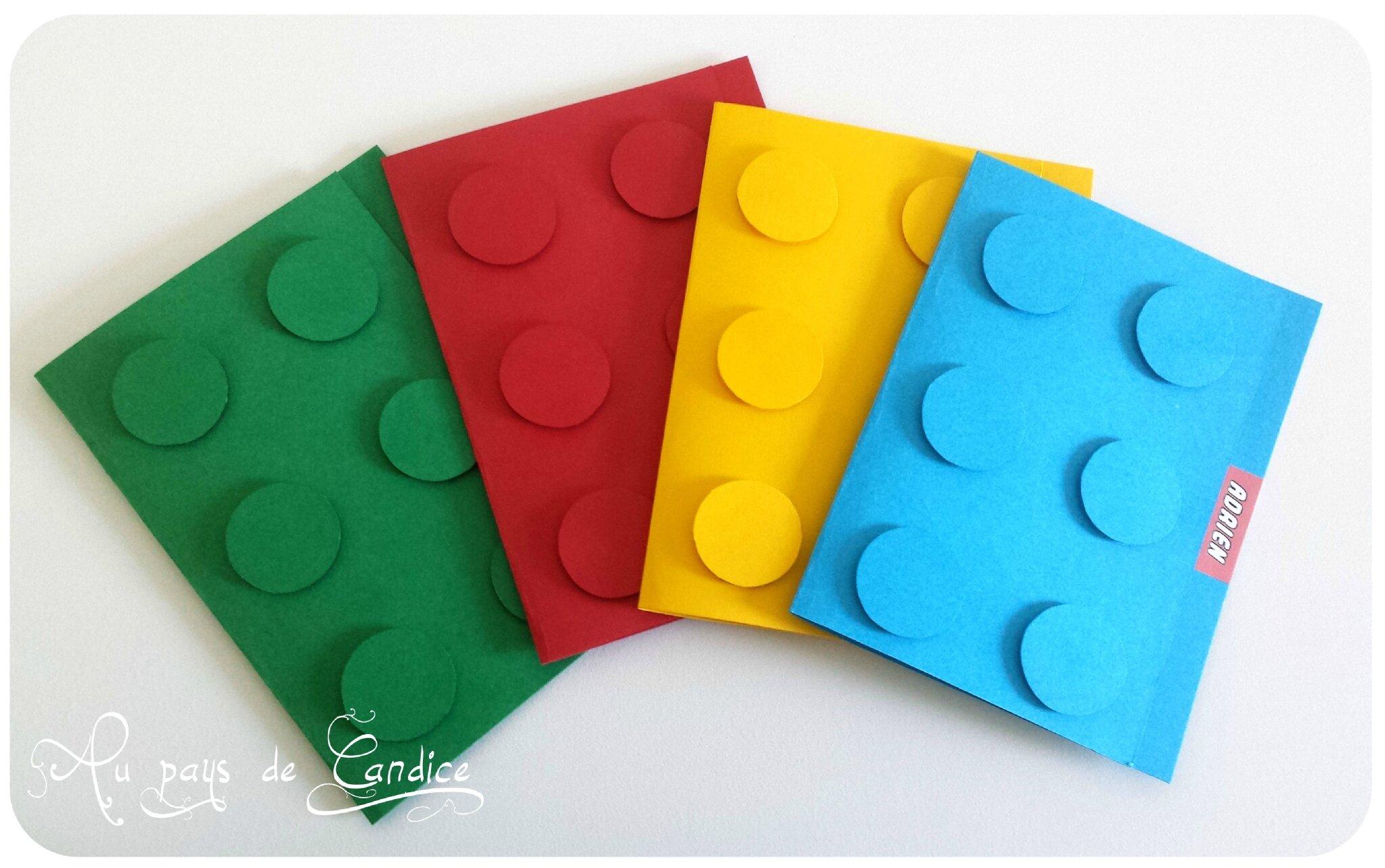 Jeux Goûter Et Invitation Pour Un Anniversaire Lego Au Pays De