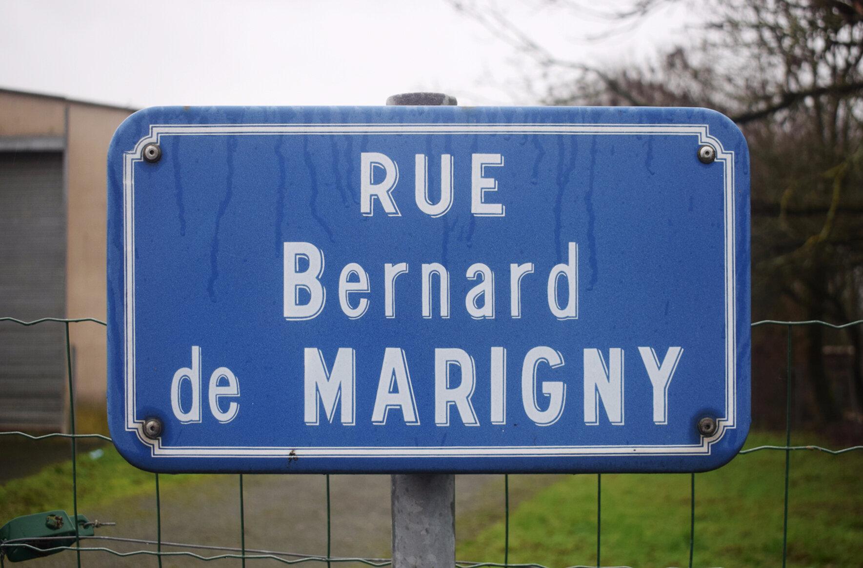 La Châtaigneraie (85), rue Bernard de Marigny