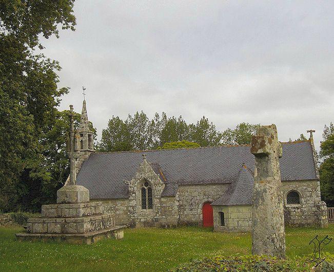 1_Chapelle St Guénolé de Trolez_vue ensemble