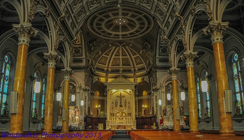 Berlin, New Hampshire-église-intérieur