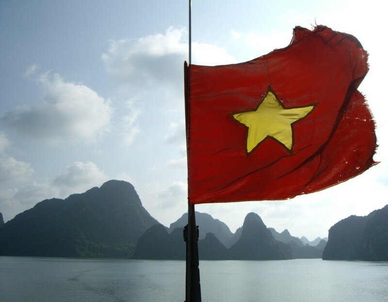 Vietnamese flag for those who thought it was a communist flag