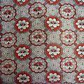794 magnifique motif pour ce tissu ancien - antique fabric