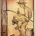 n° 491, le pêtit pêcheur de Norman Rockwell (460x640)
