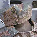 Chapeau de pluie AGATHE imprimé panisphère (3)