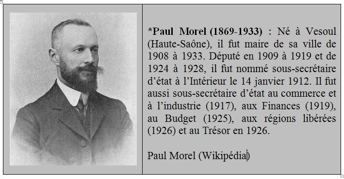Paul Morel Bio
