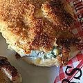 Cordons bleu de poulet à la pancetta