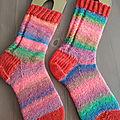 Seconde paire de chaussettes pour cécile