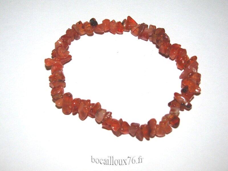 Bracelet CORNALINE 10 Chips (2)