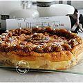 Un autre <b>gâteau</b> <b>magique</b>, aux pommes cette fois ci....Irrésistible!!!!!!!!!