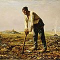 REALISME 1860-62 L'homme à la houe_Millet
