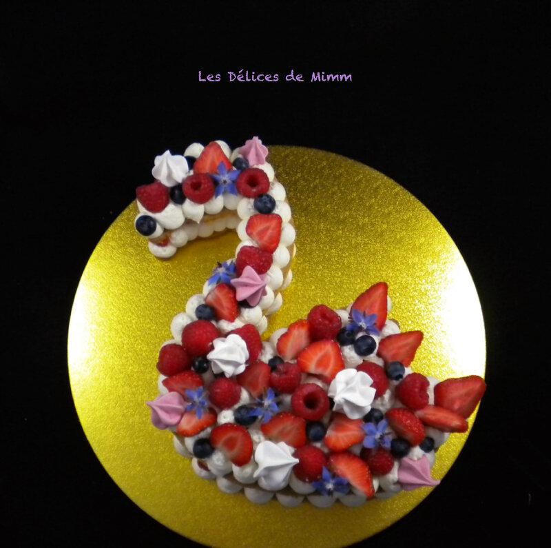 Le flamingo cake 3