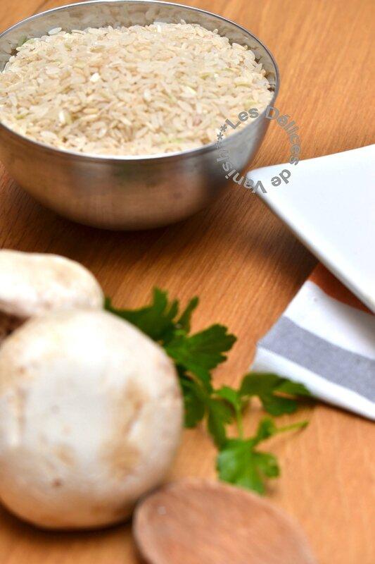 riz italien semi complet bio,