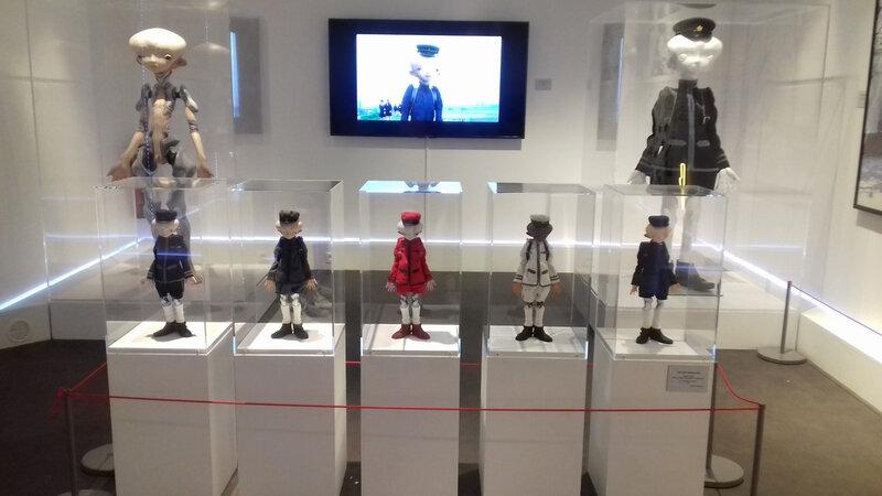 expo monstres, mangas et Hurakami au musée en herbe (18)