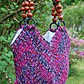 Le solid granny square bag ou sgsb