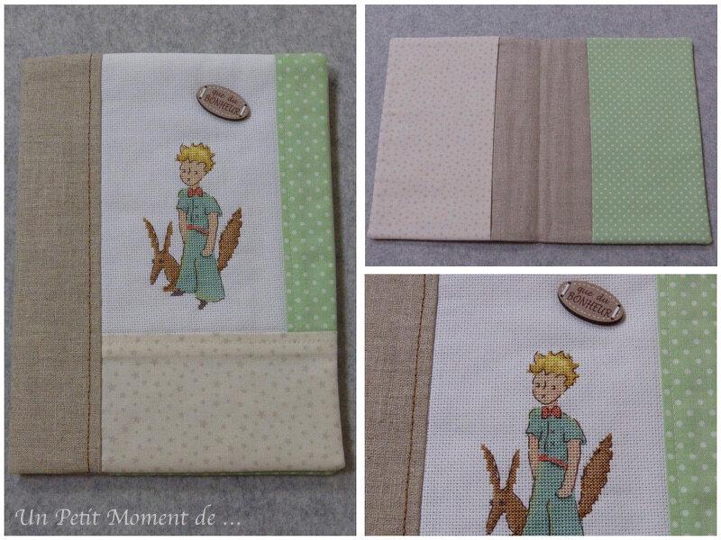 Protège-carnet de santé Petit Prince 2