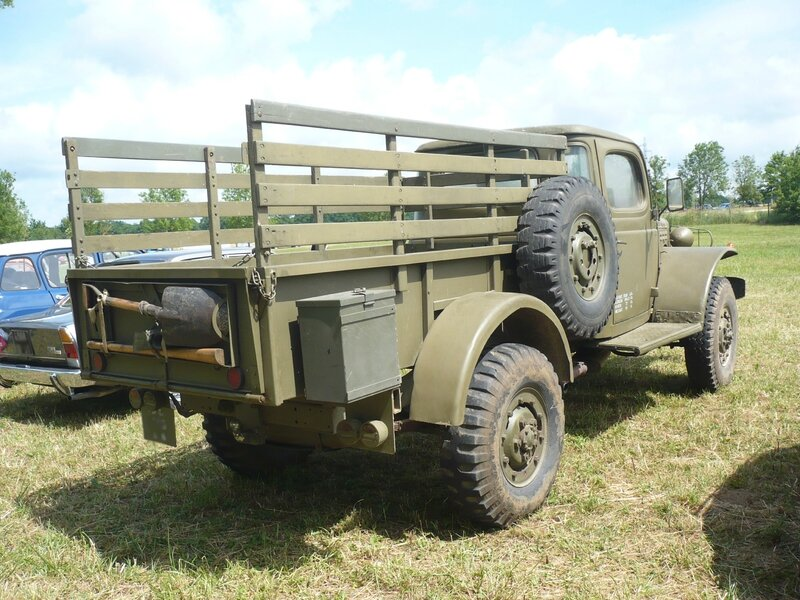 DODGE WC Weapons Carrier sans treuil pick-up 1944 Madine (2)