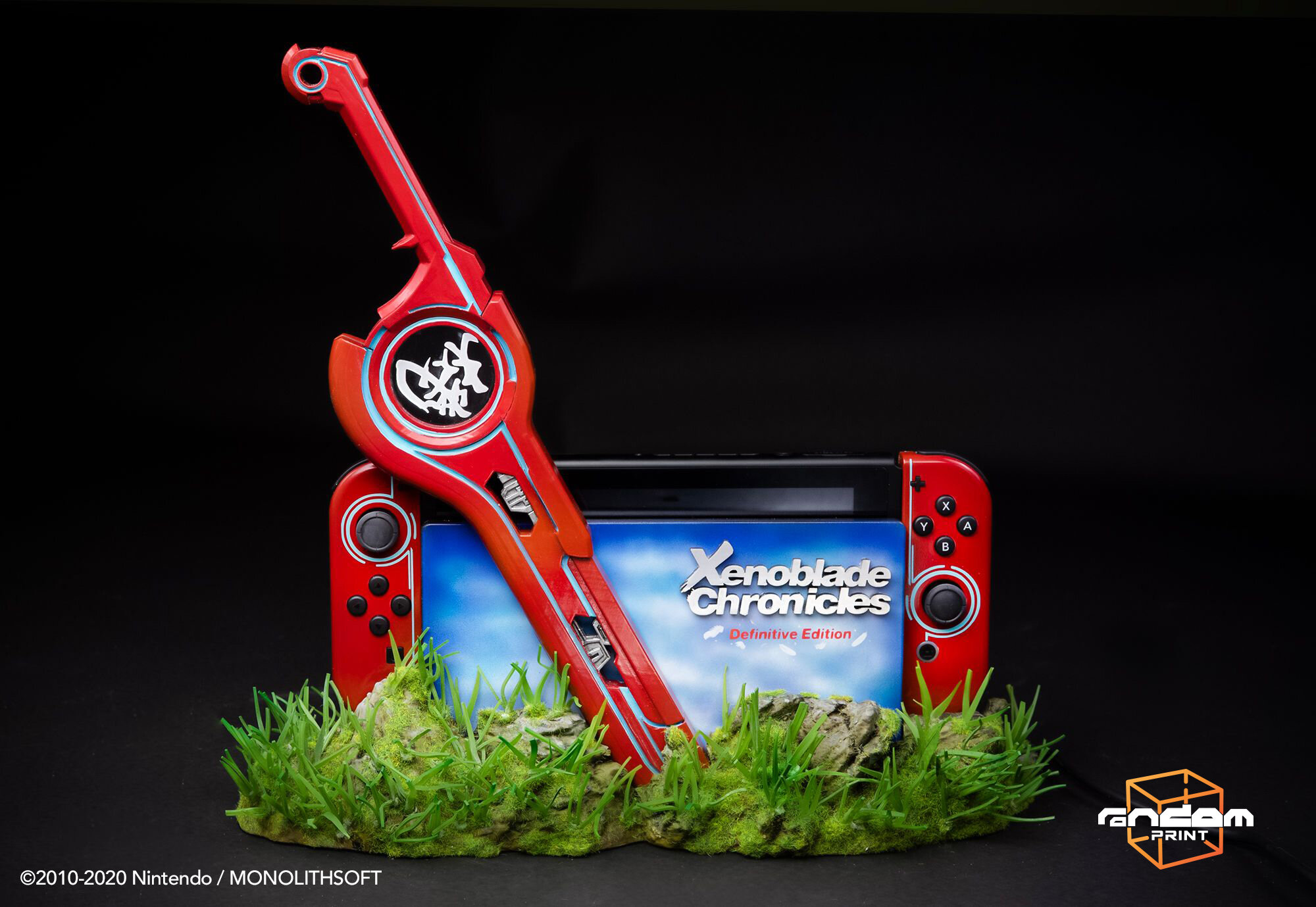 Xenoblade Chronicles: Definitive Edition - Nintendo Switch custom