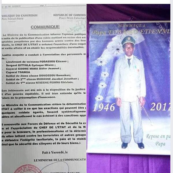 Cameroun: Un lieutenant de vaisseau de l'armée Camerounaise mis aux arrêts alors qu'il est décédé depuis 2017