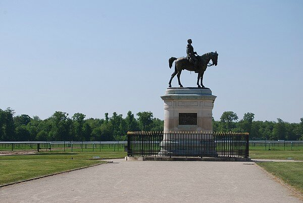 statue equestre MVC Hippodrome