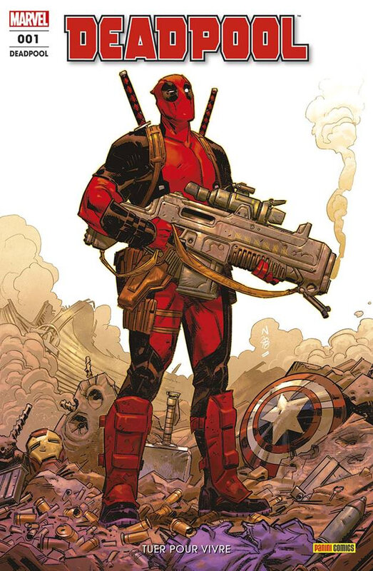 Panini Marvel Fresh start Deadpool