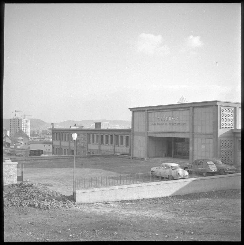 CETEHOR nouveaux locaux 1962