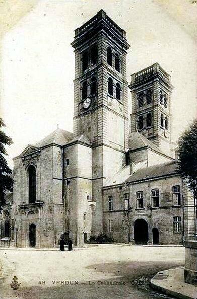 Verdun Cathédrale av 14
