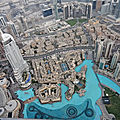 Dubai, burj kalifa 148ème