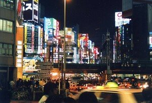 voyage tokyo 2004 Shinjuku Néons 003