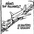 avion pollution humourCharlieHebdo_-_2019-06-19