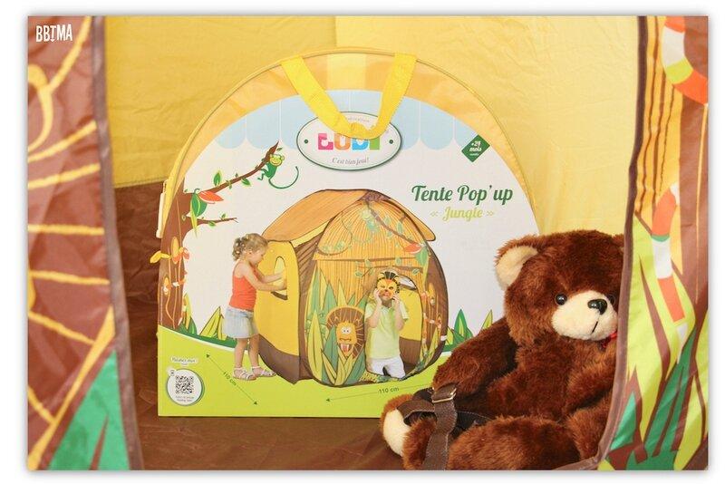 9 Tente pop up jungle ludi jardin extérieur jouet maison enfant jeux toile bbtma blog parents efluent5