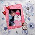 Mon copain, le bohomme de neige