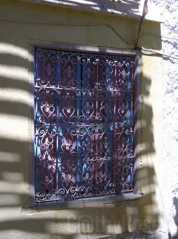 && fenêtre à moucharabieh
