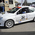 Rally baldomerien 2015 coupe de france n° 34 17e 206 rc