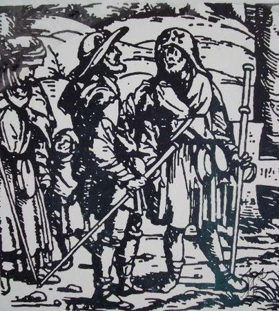 pèlerins d'antan