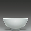 A tianbai anhua-decorated bowl, Yongle period (1403-1425)