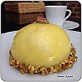 Dôme citron pistaches