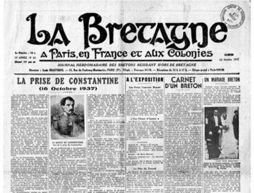 Emigration Bretonne à Paris